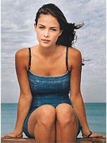Josie Maran in GUESS?'s 1998 summer campaign