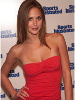 Josie Maran at MTV presents Sports Illustrated 2002
