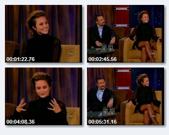 Josie Maran on Jimmy Kimmel Live