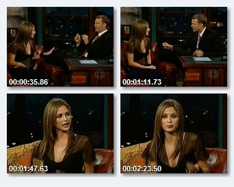 Josie Maran on The Late Late Show with Craig Kilborn